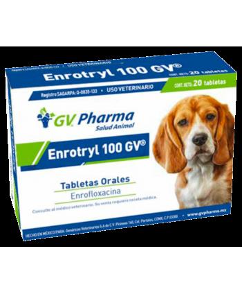 ENROTRYL 100 GV 20 TABS.